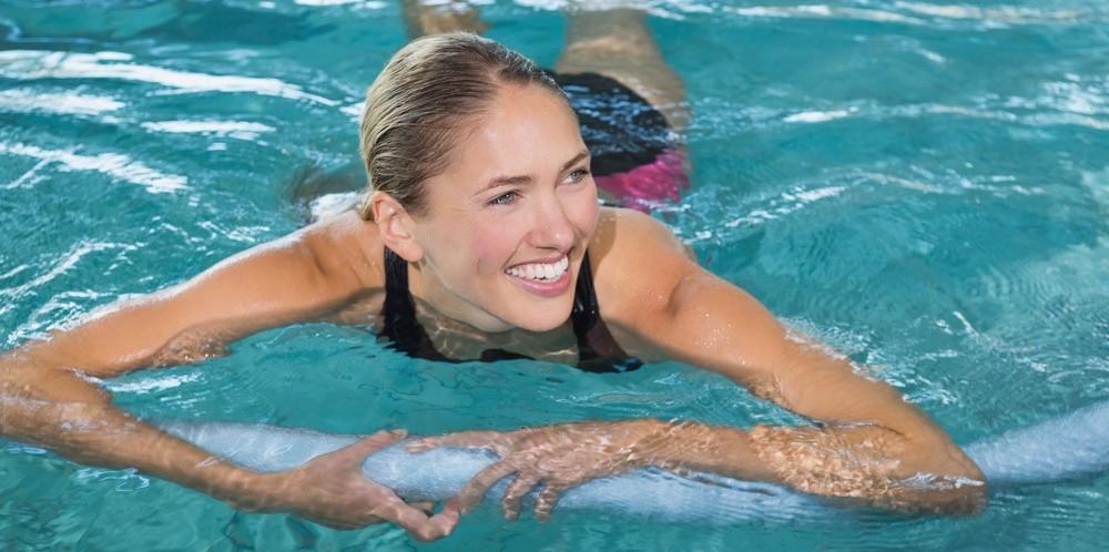 При плавание можно похудеть