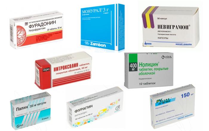 антибиотики при цистите