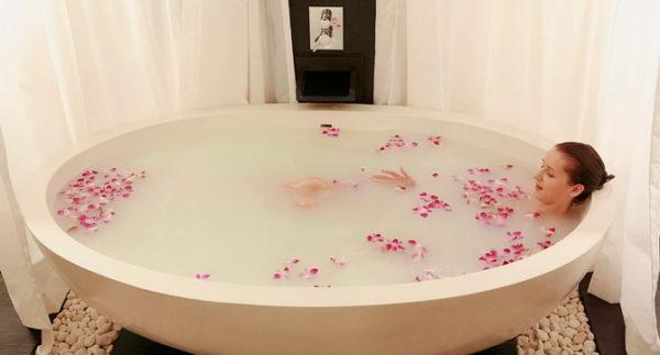 Медово-молочная ванна