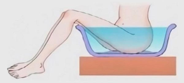 подмывание в чашке
