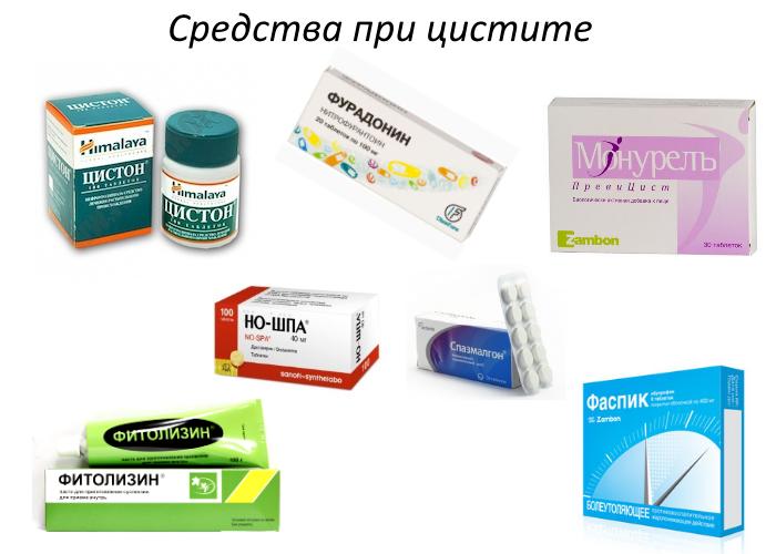 Какие обезболивающие средства используются при цистите