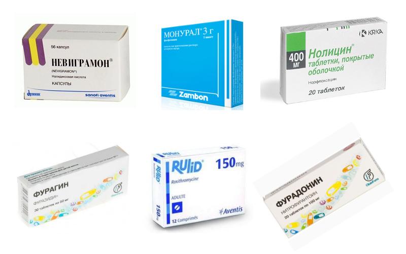 препараты от воспаления мочевого пузыря