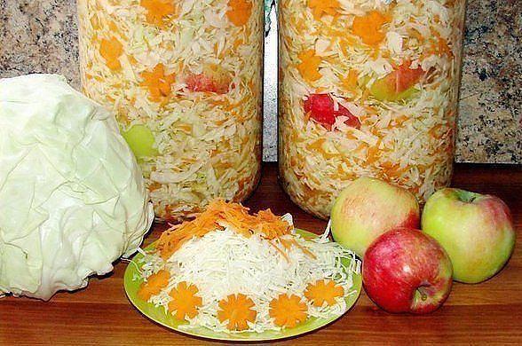 заготовка квашенной капусты